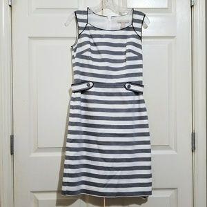 Banana Republic   Striped sheath dress 2